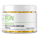 1000mg Broad Spectrum CBD Soft Gels + Curcumin