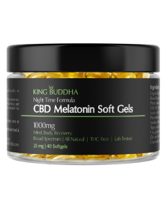 CBD Melatonin Soft Gels 1000mg
